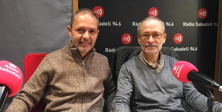 Pau Avellaneda i Manel Larrosa avui a Ràdio Sabadell | Mireia Sans