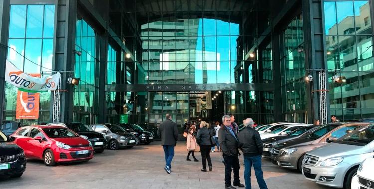Més de 200 automòbils, a l'abast del possible comprador, al Saló del Vehicle d'Ocasió a Fira Sabadell   Cedida