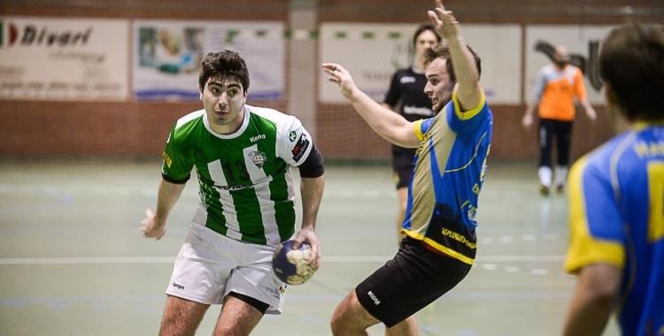 Peiró va marcar el gol de la tranquilitat gracienca. | OAR Gràcia