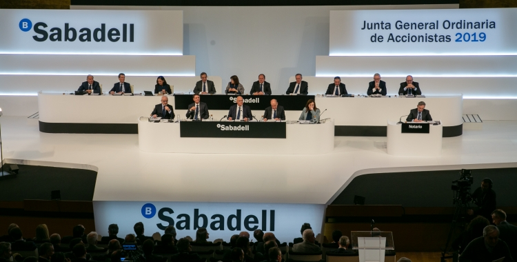 La junta de Banc Sabadell a Alacant | Banc Sabadell