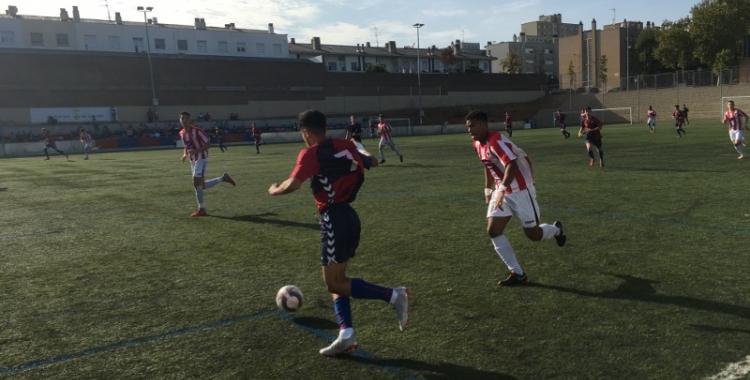 El Mercantil va golejar a l'Atlètic Segre a l'Arraona-Merinals | Marc Pijuan