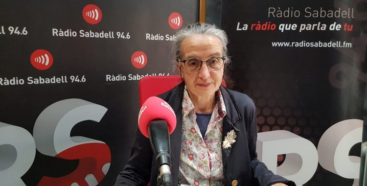 Jordina Belmonte a Ràdio Sabadell | Raquel Garcia