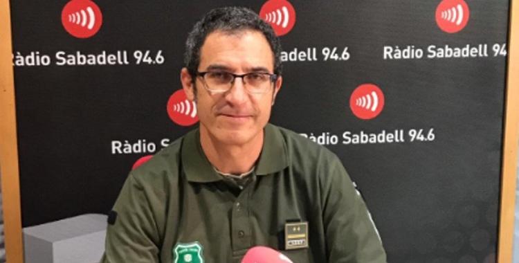 David Gámiz als estudis de Ràdio Sabadell | Ràdio Sabadell