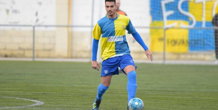 Adri Peña va ser expulsat en el minut 63. | Roger Benet