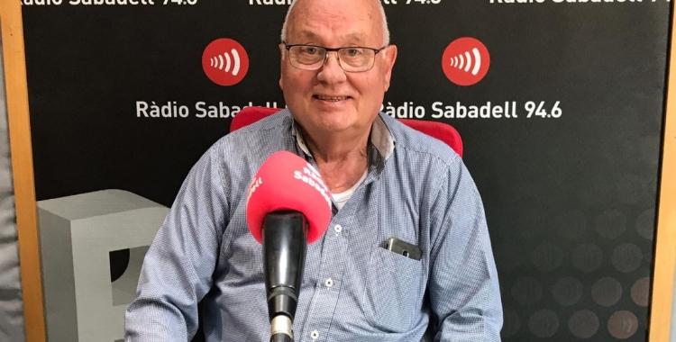 Miquel Borràs és el president de la Unió Ciclista de Sabadell.   Adrián Arroyo
