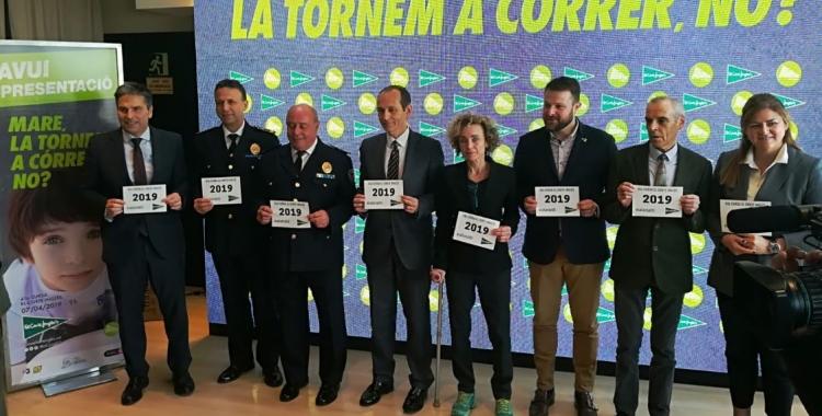 La 41a Cursa El Corte Inglés ha estat presentada al centre comercial de la Plaça Catalunya de Barcelona. | Sergi Park