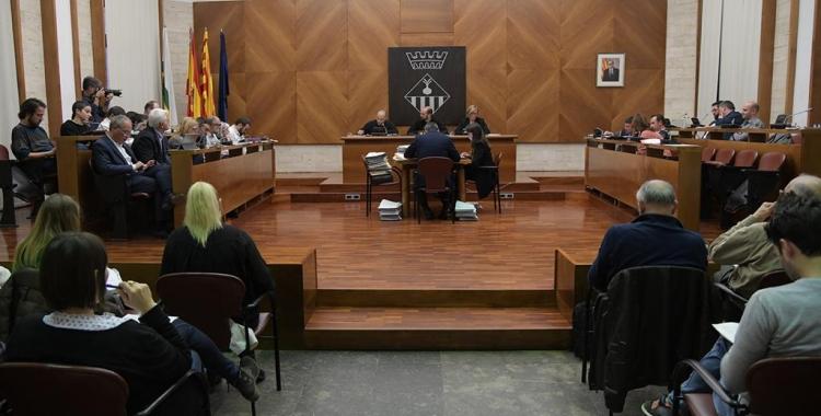 El debat sobre la Residència del Sud ha tancat el Ple de febrer/ Roger Benet