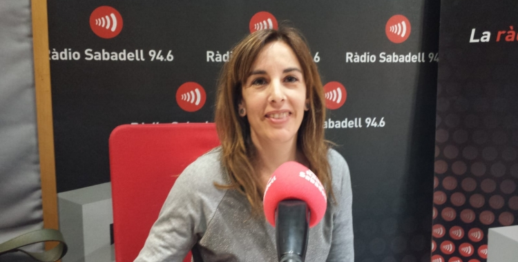 Noèlia Gàlvez (AEV) a Ràdio Sabadell | Pau Duran