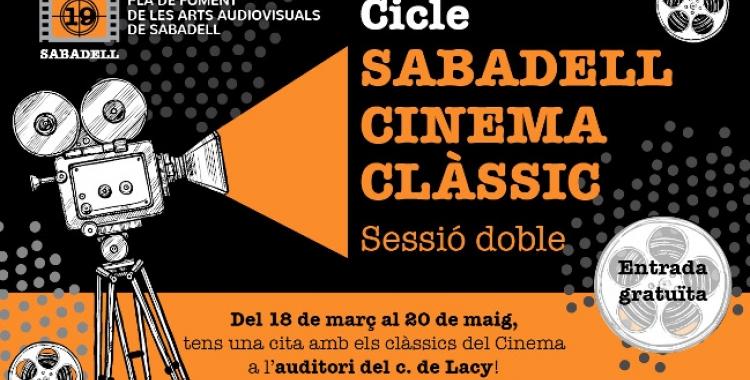Imatge del cartell del cicle de cinema clàssic | Cedida