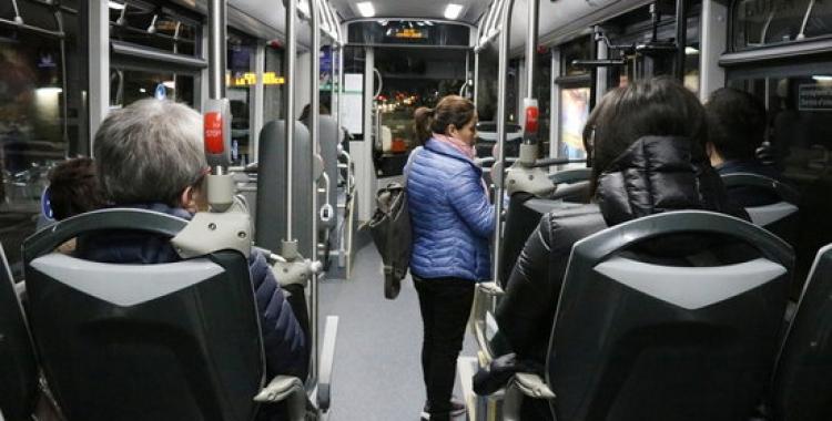 Imatge d'un autobús de la TUS   Norma Vidal