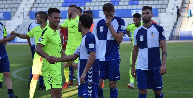 Imatge del partit de la primera volta | Críspulo Díaz