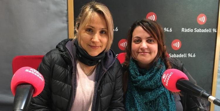 Jenny González i Aida Guidus a Ràdio Sabadell