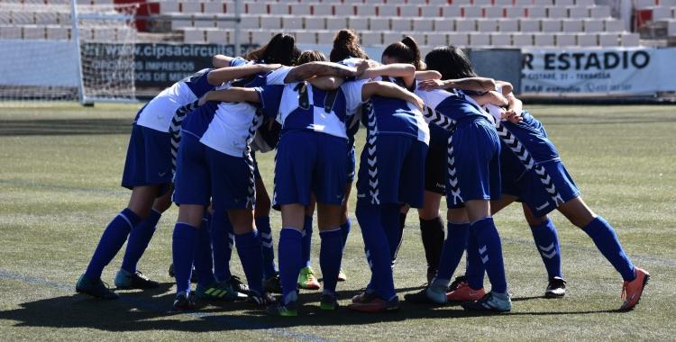 El Sabadell femení acumula tres partits sense guanyar. | Críspulo Díaz