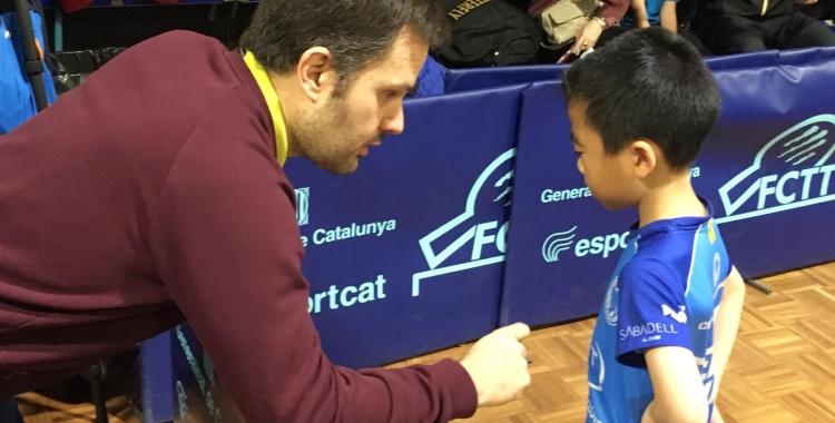 Morales deixarà la seva vessant com a tècnic però seguirà de jugador   CNS Tennis Taula