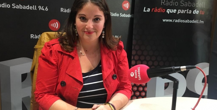 Mabel Rodríguez, de Front Republicà, a Ràdio Sabadell   Mireia Sans