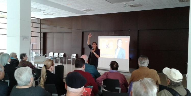 Marta Farrés ha exposat el seu programa per a la gent gran al complex Alexandra | Marc Serrano i Òssul