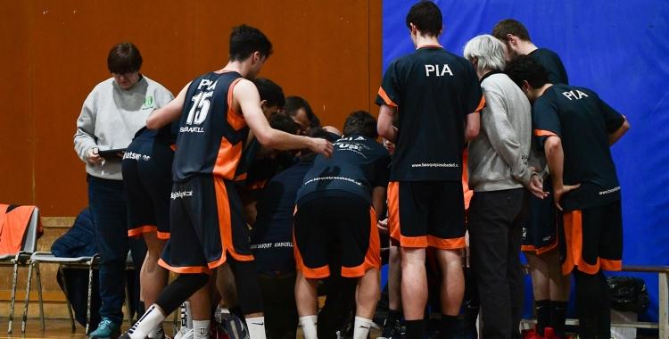 El Bàsquet Pia ha de capgirar la situació després dues derrotes consecutives. | Roger Benet