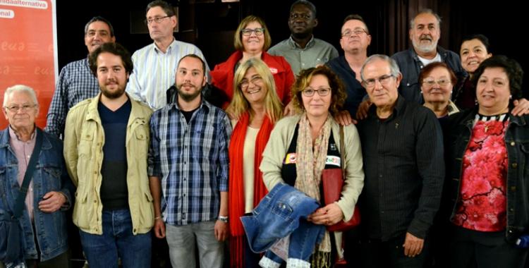 La imatge de l'assemblea d'EUiA que va escollir Tere Ibàñez | David Bisbal
