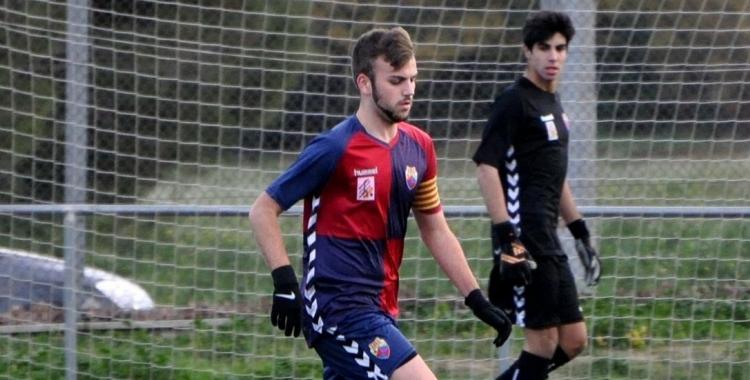 Gerard Silvestre va marcar l'empat en el temps de descompte | Jmguarch
