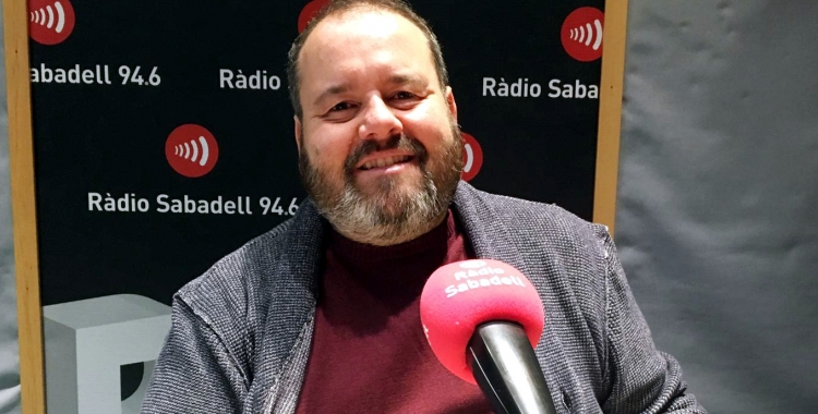 Joan Mena, candidat d'En Comú-Podem al Congrés