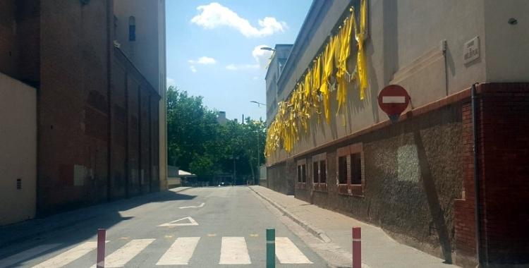 Imatge actual del carrer Montllor i Pujal | Arxiu