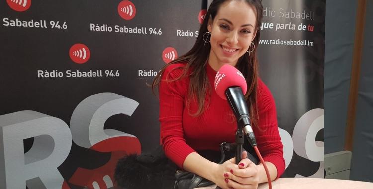 Niedziela Raluy a l'estudi de Ràdio Sabadell | Raquel García