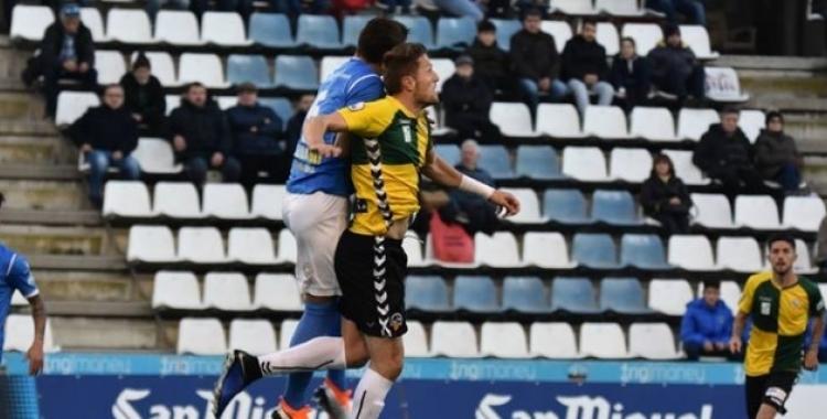 Duel aeri del partit de la primera volta   Críspulo Díaz