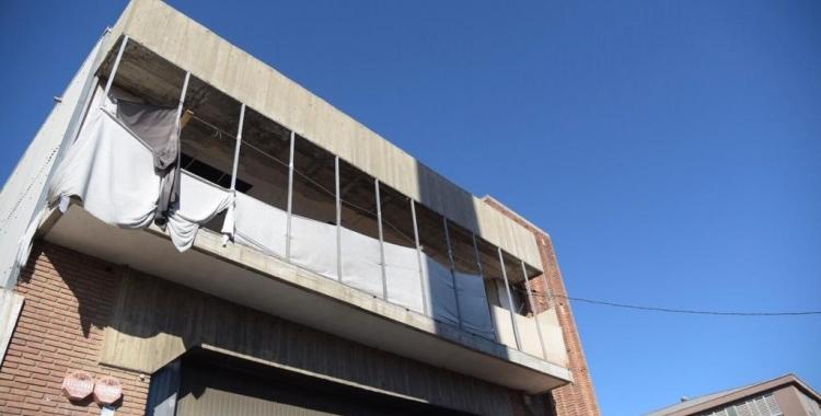 Imatge de la nau industrial on vivien alguns dels detinguts   Roger Benet