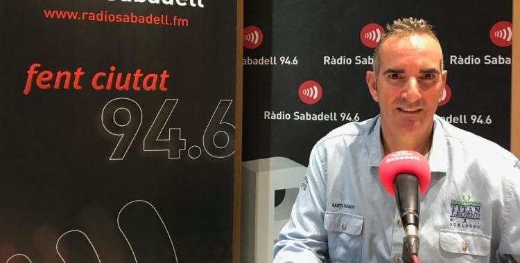 Santi Ramos ha passat aquest midgia per al programa Hotel Suís. | Adrián Arroyo