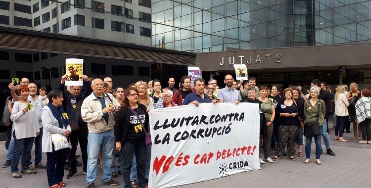 Maties Serracant, el dia que va declarar com a investigat pel cas d'El Tallaret | Roger Benet