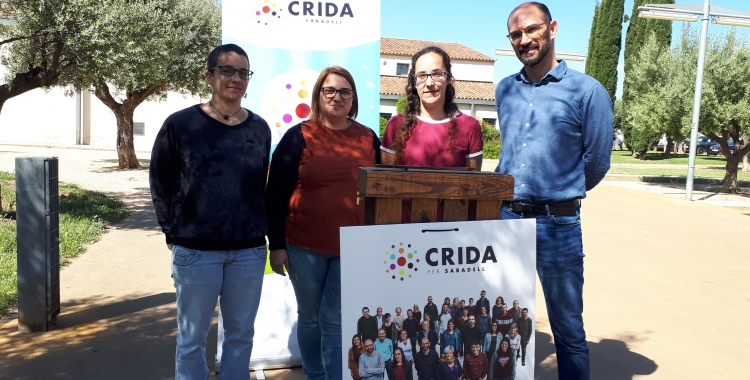 La Crida ha presentat avui les seves propostes d'habitatge a la Granja del Pas/ Ràdio Sabadell