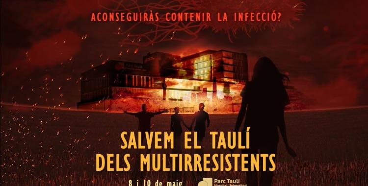 El Taulíorganitza un room escapeper la higiene de mans | Consorci Sanitari del Parc Taulírci