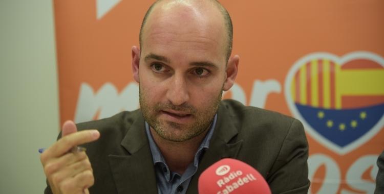 Adrián Hernández, líder de Ciutadans   Roger Benet