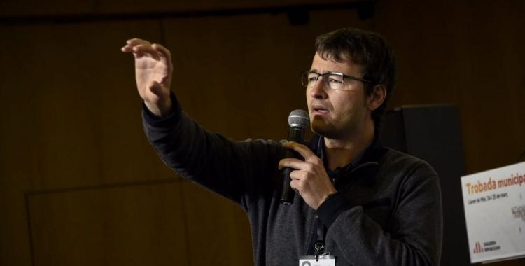 Santi Valls és el president d'ERC Sabadell i el número cinc de la candidatura | ERC