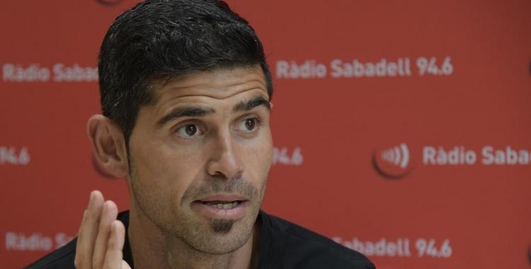Antonio Hidalgo aquesta tarda als estudis de Ràdio Sabadell | Roger Benet