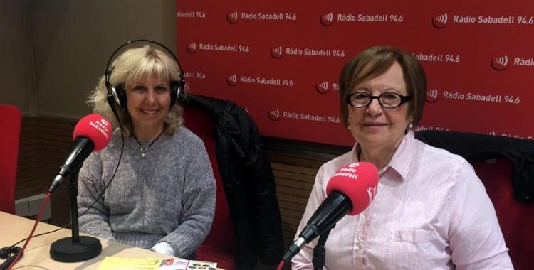 Teresa Coret i Àngela Fernández, al programa Al Matí/ Raquel Garcia