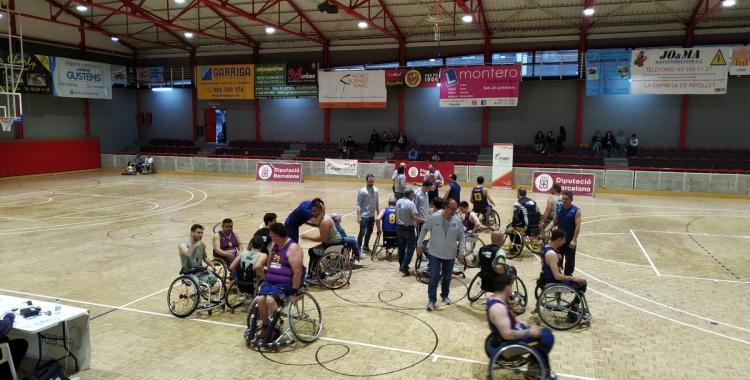 El Global Basket es va desfer del Barça (57-40) a les semifinals de la Copa Catalunya. | FCEDF