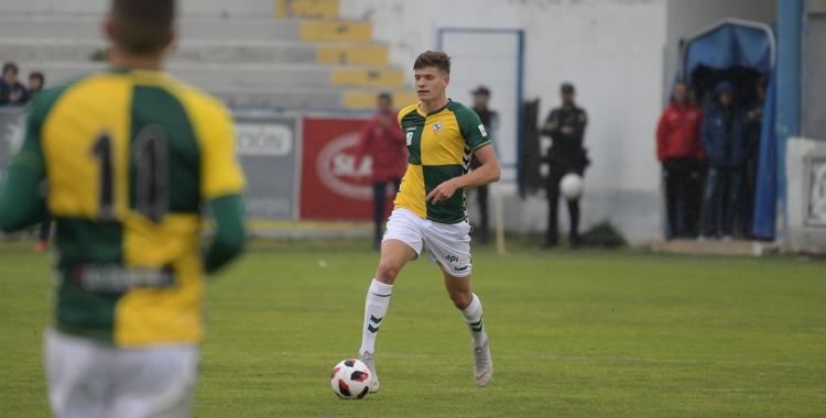 Konyk va disputar 50 minuts divendres passat al Collao | Roger Benet