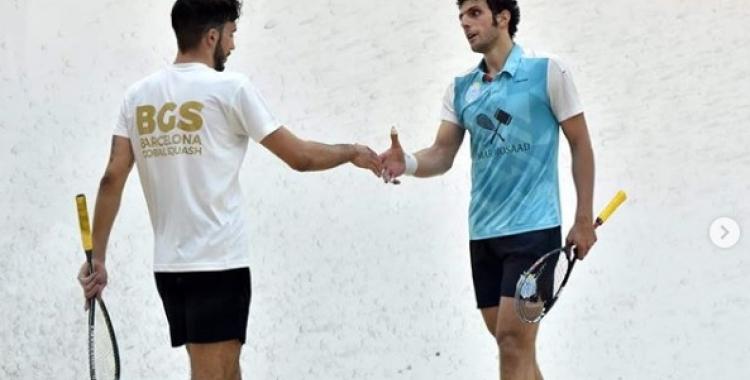 Pajares pot trobar-se amb Mosaad com ara fa dues setmanes a Egipte | El Gouna Squash