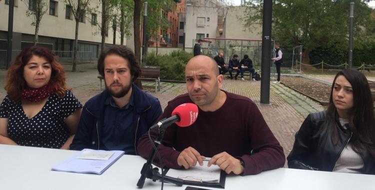 Els comuns han presentat el programa a la Biblioteca Vapor Badia | Ràdio Sabadell