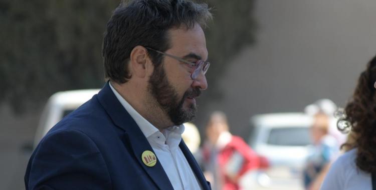 L'alcaldable d'ERC, Juli Fernàndez, a La Salut | Roger Benet