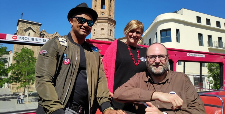 Marisol Martínez i Miquel Soler, amb Henry Méndez | Pau Duran