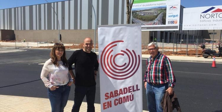 Rosa Morales, Joan Berlanga i Manuel Moya | Cedida