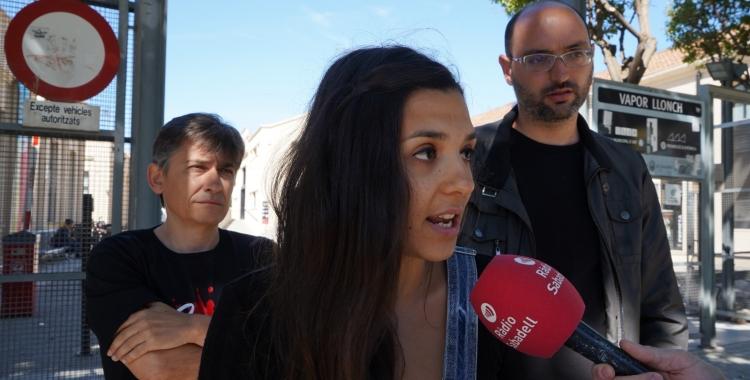 Laura Àlvarez, número set de la Crida per Sabadell | Cedida
