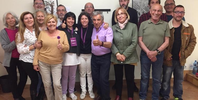 Marta Morell, al centre de la fotografia | Ràdio Sabadell
