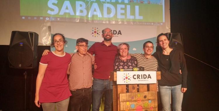 Anna Lara, Lluís Perarnau, Maties Serracant, Nani Valero, Glòria Rubio i Míriam Ferràndiz   Pere Gallifa