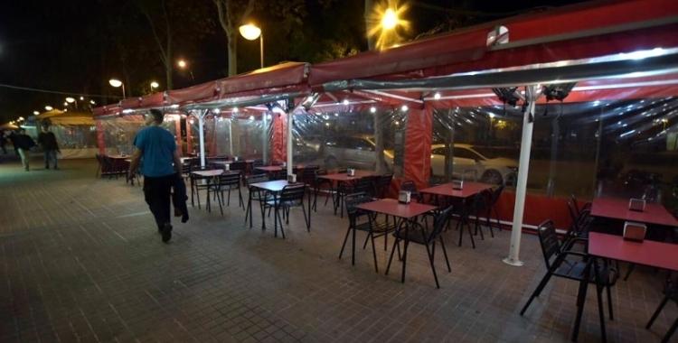Terrassa de l'Eix Macià/ Arxiu Ràdio Sabadell