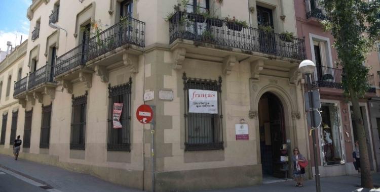 Imatge de la Casa Taulé, seu fins ara de L'Aliança Francesa