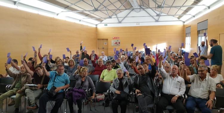 Podem Sabadell va beneir dijous en assemblea l'acord amb el PSC que ha donat l'alcaldia a Marta Farrés | Podem Sabadell