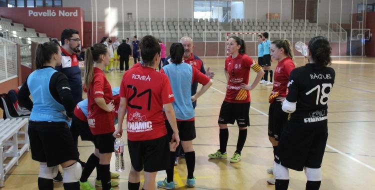 Acció d'un partit del Femisport d'aquesta temporada | Adrián Arroyo